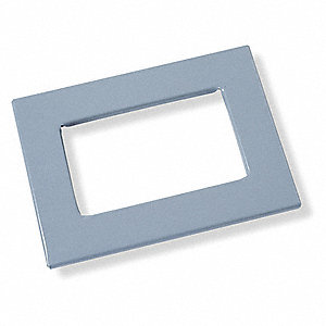 "Enclosure Window Kit, Stainless Steel, 15.50"" Frame Height, 10.50"" Frame Width"