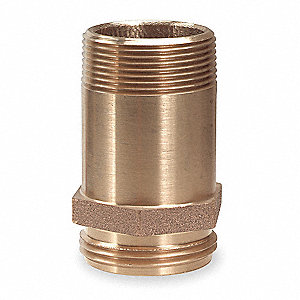 "1-1/2"" x 3-1/2"" Brass Brass Rack Nipple, Pipe Nipple"