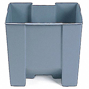 Optional Rigid Liner,19 gal,Gray