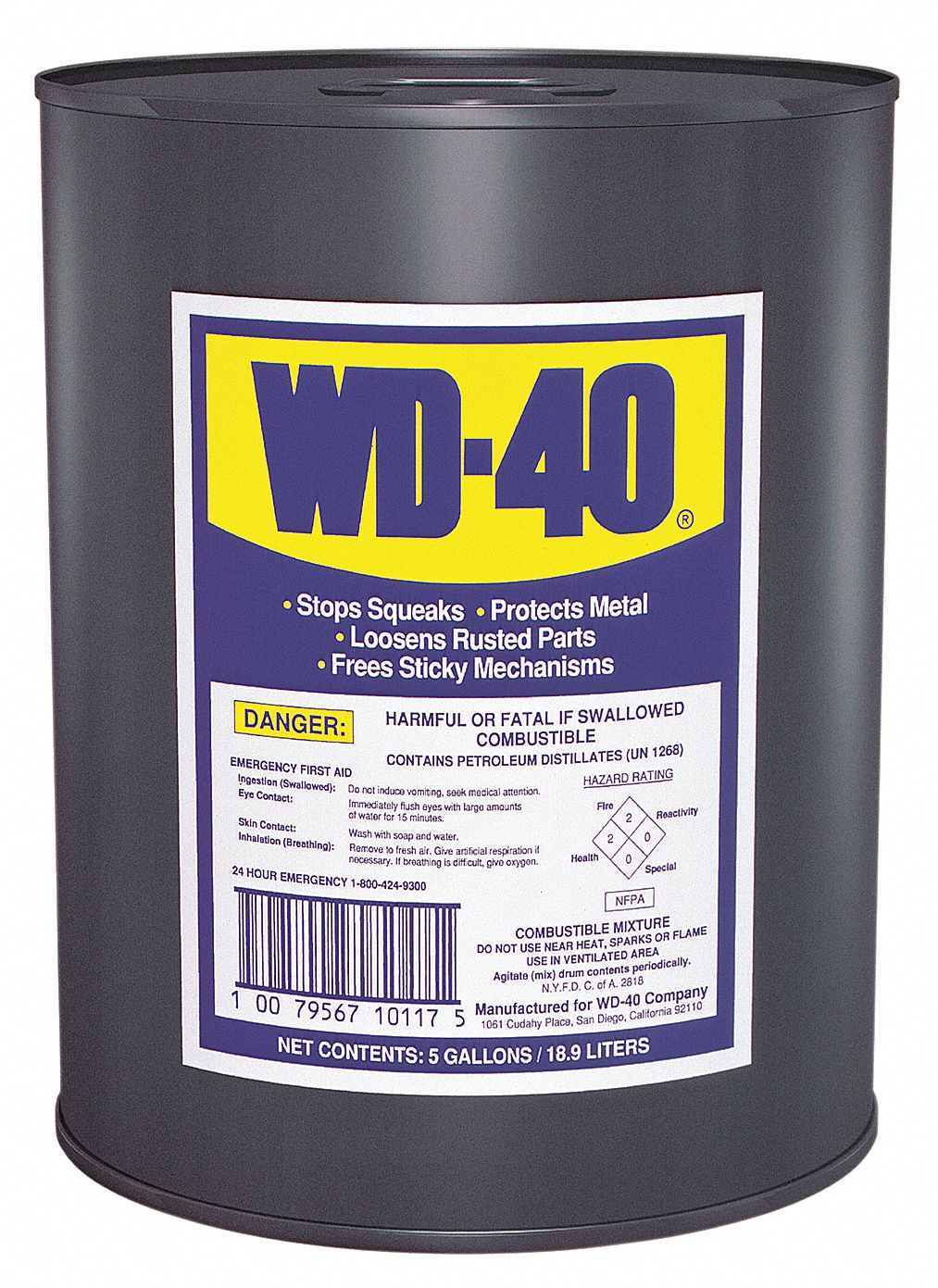 General Purpose Lubricant,  -60° to 300°F,  No Additives,  Net Fill 5 gal,  Pail