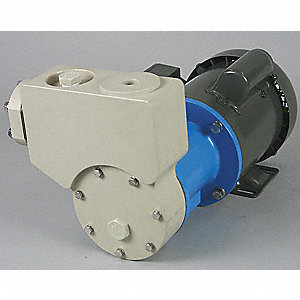 1 HP Self-Priming Turbine Pump, 115/208-230 Voltage, Max. Pressure (PSI):  43