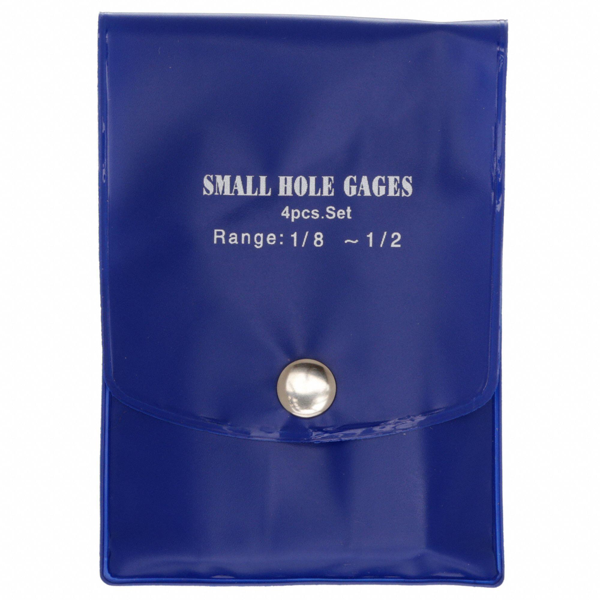 "4pcs 3-13mm Small Hole Bore Gauge Set Full Ball Type Gage 1//8~1//2/"" 0.125-0.5/"""