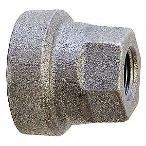 Concentric Reducer Coupling,1x3/4 In.