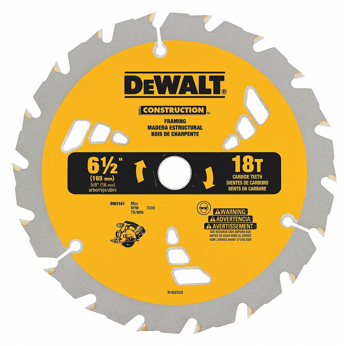 6-1//2 in x 32-Teeth Wood and Metal Saw Blade Cutting Multi Purpose NEW