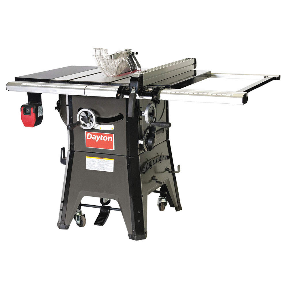 Dayton contractor table saw10 in blade dia 48we8548we85 grainger zoom outreset put photo at full zoom then double click keyboard keysfo Image collections