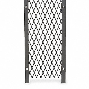 "Adjustable Panel, Material: Metal, Overall Height: 8 ft., Overall Width: 2-1/2"" to 1 ft. 1"""