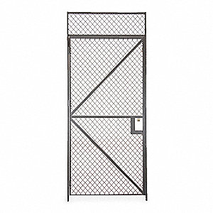 Wire Partition Hinged Door,4 ft x 8 ft