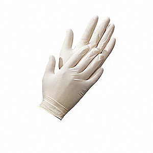 Disposable Glove,Latex,L,PK100