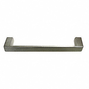 Pull Handle,Threaded Holes,Cast Zinc