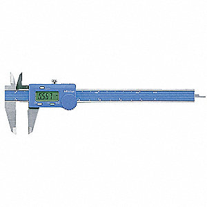 "Digital Caliper 0-6""/0-150mm Range, 0.001""/0.10mm Resolution, IP Rating: Not Rated, Stainless Steel"