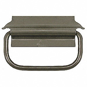 304 Stainless Steel Folding Pull Handle with Natural Finish, Natural; Hardware Not Included