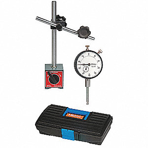 Indicator Magnetic Base Set,0 to 1 In