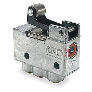 "5/32"" Manual Air Control Valve with 3-Way, 2-Position Air Valve Type"