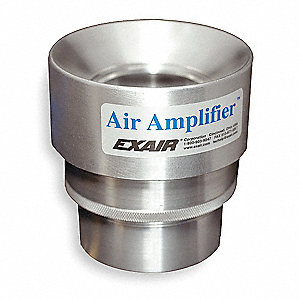 AIR AMPLIFIER,0.75 IN INLET,8.9 CFM