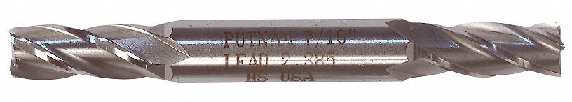 "Cobalt Ball End Mill 3//16/"" Shank Double End 2-1//4/"" Overall Length YG 5//32/"" Dia"