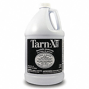 Tarnish Remover,  1 gal Cleaner Container Size,  Jug Cleaner Container Type,  Unscented Fragrance