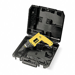 1/4 Hex Electric Screwdriver, 6.2 Amps, 132 Max. Torque (In.-Lbs.)