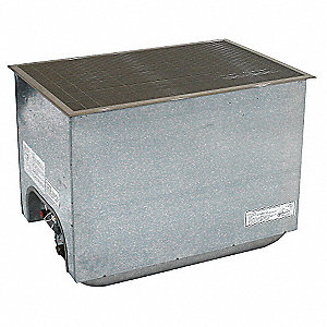 Vented Gas Floor Furnace,LP,45500 BtuH