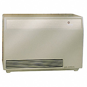 "37"" x 15-3/4"" x 26"" Hot Surface Fan Forced Counterflow High Efficiency Gas Wall Furnace"