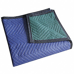 Quilted Moving Pad,L72xW80In,Blue