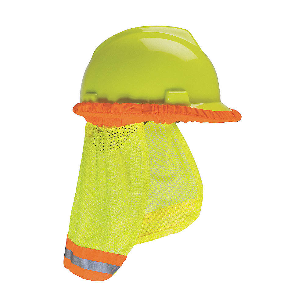 Protector Solar p/Cuello,Amarillo,Pol.