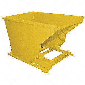 "Self-Dumping Hopper, 4 cu. yd. Volume Capacity, 6000 lb. Load Capacity, 79-3/4"" Overall Width"