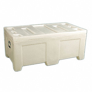 Container,16.5 cu.-ft.,650 lbs.,White