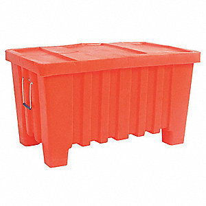 Container,8.7 cu.-ft.,550 lbs.,Orange