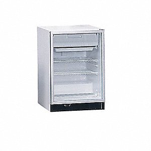 Refrigerator and Freezer,6.1 cu ft,White
