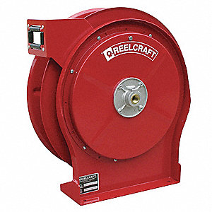 "3/8"", 50 ft. Spring Return Hose Reel, 500 psi Max. Pressure"