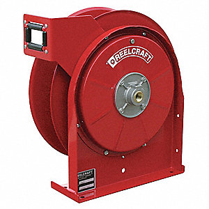"1/4"", 35 ft. Spring Return Hose Reel, 500 psi Max. Pressure"