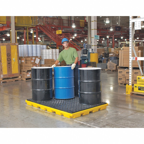 Ultra Tech Spill Containment : Ultratech spill containment pallets uncovered gal