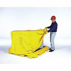 PULLOVER COVER SPILL PALLET P2 PLUS