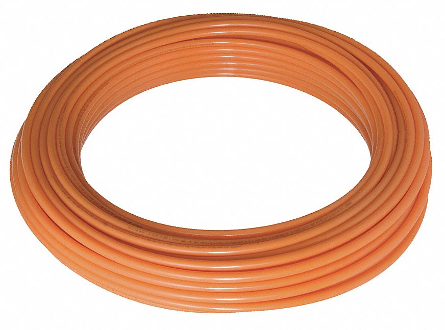 HDPE12ANA GRAINGER APPROVED Tubing,1//2 In OD,100 Ft L,Natural