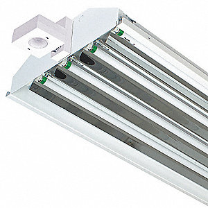 224W Fluorescent High Bay Fixture, 120 to 277V Voltage, Suggested Lamp Item No. 3VK30