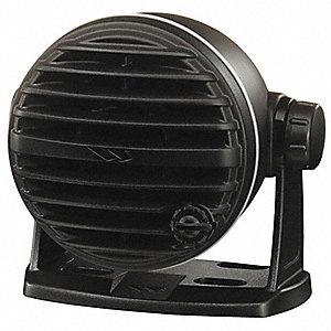 Speaker,Fixed,Mount,Black,VHF