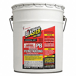 5 gal. Bucket Penetrating Solvent, Clear