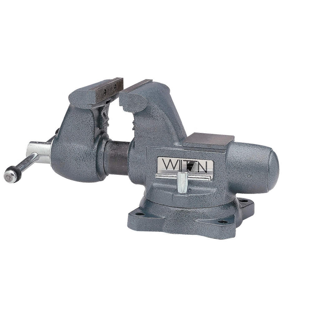 Awe Inspiring Wilton Heavy Duty Combination Vise 8 Jaw Width 7 Max Andrewgaddart Wooden Chair Designs For Living Room Andrewgaddartcom