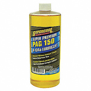 A/C Comp PAG Lube,32 Oz,Flash Point 455F
