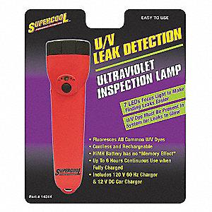 U/V DYE DETECTOR LAMP,7 LED
