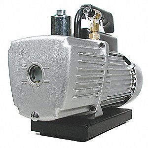VACUUM PUMP,DUAL STAGE 110V/60HZ