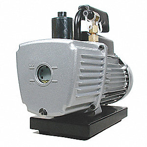 Refrig Evacuation Pump,2.50 cfm,6 ft.