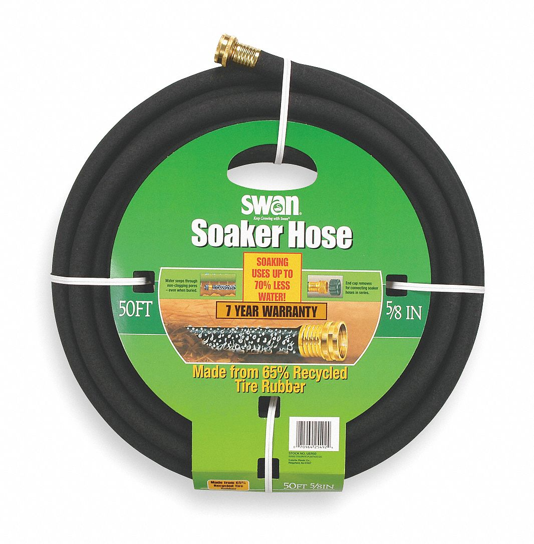 swan hose soaker 5 8in 50ft 4lu68 csncuer050 grainger