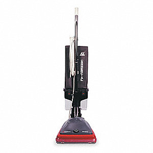 "1/2 gal. Capacity Bagless Upright Vacuum with 12"" Cleaning Path, 120 cfm, Standard Filter Type, 5 Am"