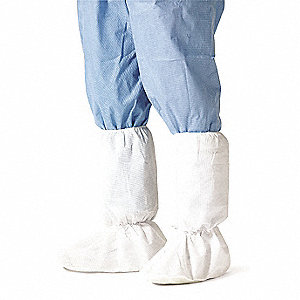 "Boot Covers, Slip Resistant: Yes, Waterproof: No, 13"" Height, Size: XL, 100 PK"