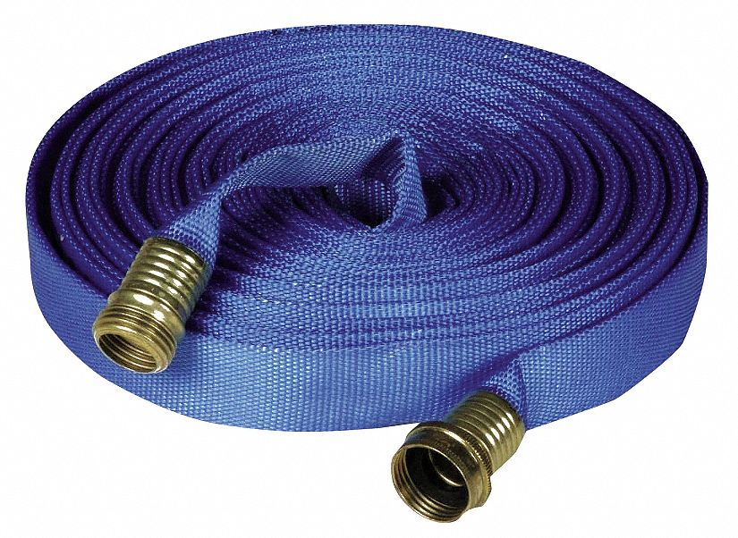 Flat Supply Hose, For Use With Decon Showers