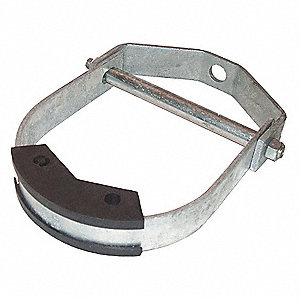 "4-1/2"" Carbon Steel Clevis Hanger, Size 2 for 1/2 to 1"" Pipe Size"