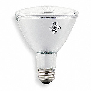 39 Watts Ceramic Metal Halide HID Lamp, PAR30L, Medium Screw (E26), 2400 Lumens, 3000K Bulb Color Te