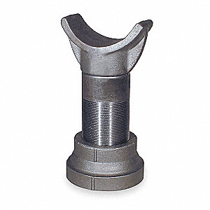 Pipe Saddle Support,Galvanized,8 In