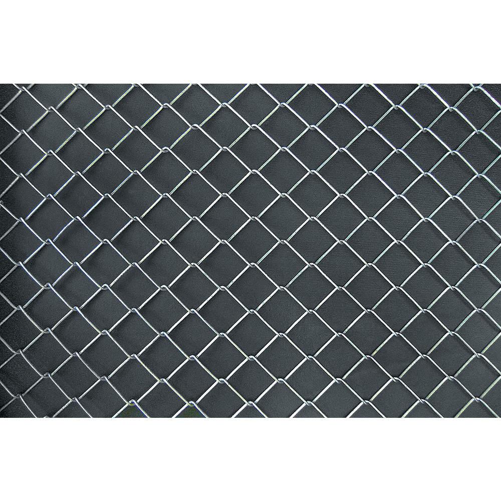 GRAINGER APPROVED Steel Chain Link Fabric, 9 ga. Gauge, 2\